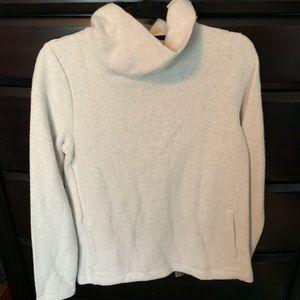 J Crew Fleece Turtle neck sweatshirt